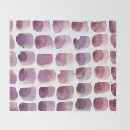 brushstrokes Throw Blanket
