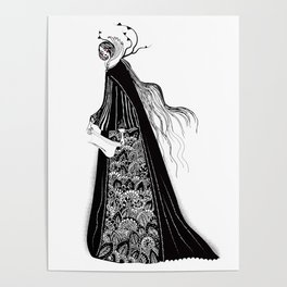 The Norse Goddess Snotra Poster