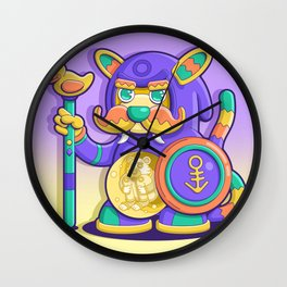 Mr. mouse man Wall Clock