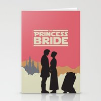 princess bride Stationery Cards featuring The Princess Bride by mattranzetta