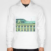 political Hoodies featuring Political building. by Alejandra Triana Muñoz (Alejandra Sweet