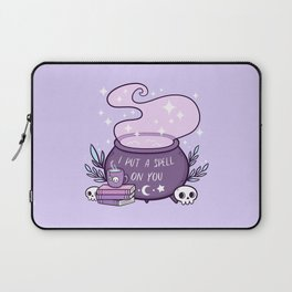 Witch Cauldron // Purple Laptop Sleeve