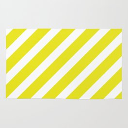 Basic Stripes Yellow Rug