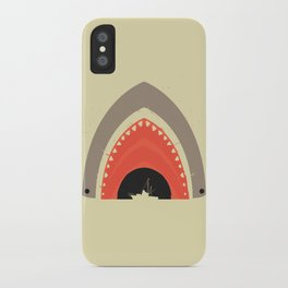 Great White Bite iPhone Case