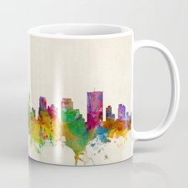 Memphis Tennessee Skyline Cityscape Coffee Mug