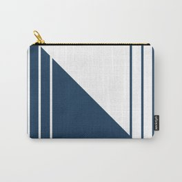 Complementary Lines Carry-All Pouch