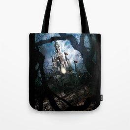 Dark Disney castle Tote Bag