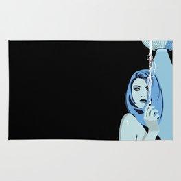 Genevieve & Cigarettes  Rug