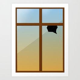 Surrealism Window Art Print