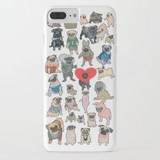 Pugs iPhone 7 Plus Slim Case