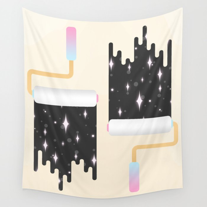 I Show You the Stars Wall Tapestry