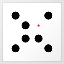 Too Small (Circles) Art Print
