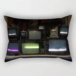 Nostalgia - Cathode Ray Tube Television Rectangular Pillow