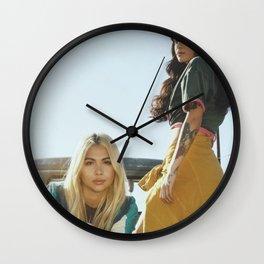 Kehlani x Hayley Kiyoko 2 Wall Clock