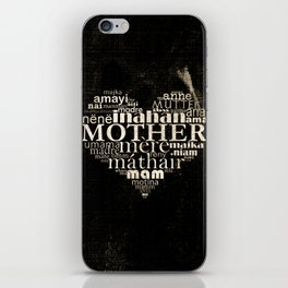 Mother (old photo) iPhone Skin