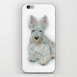 Wheaten Scottish Terrier iPhone Skin