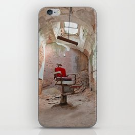 Abandoned Barber Prison Cell iPhone Skin