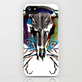 Graphic Steer iPhone Case