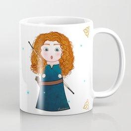 Kokeshi Merida (Brave). Coffee Mug