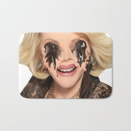 JOAN RIVERS VISITS A PLASTIC SURGEON IN HELL Bath Mat
