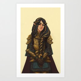 Fingon the Valiant Art Print