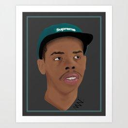Earl Sweatshirt Digital Painting  Art Print