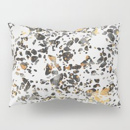 Gold Speckled Terrazzo Pillow Sham
