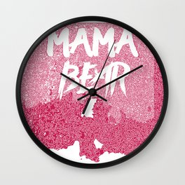 MAMA [GONNA] KNOCK [YOU] OUT Wall Clock