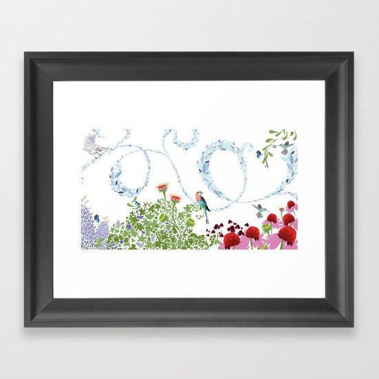 Meadow scene (full) Framed Art Print