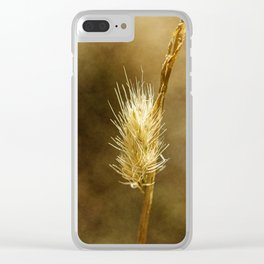 wild flowers #107 Clear iPhone Case