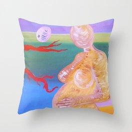 Neohina Throw Pillow