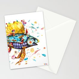Toy's Fish Stationery Cards