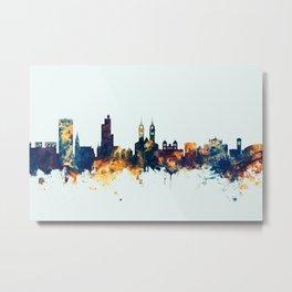 Winterthur Switzerland Skyline Metal Print
