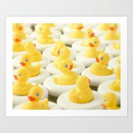 Rubber Ducky Time Art Print