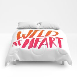 Wild At Heart x Typography Flame Ombre Comforters
