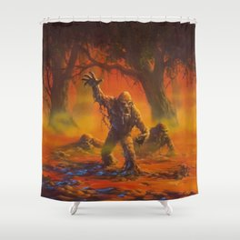 You Can't Scare Me Shower Curtain