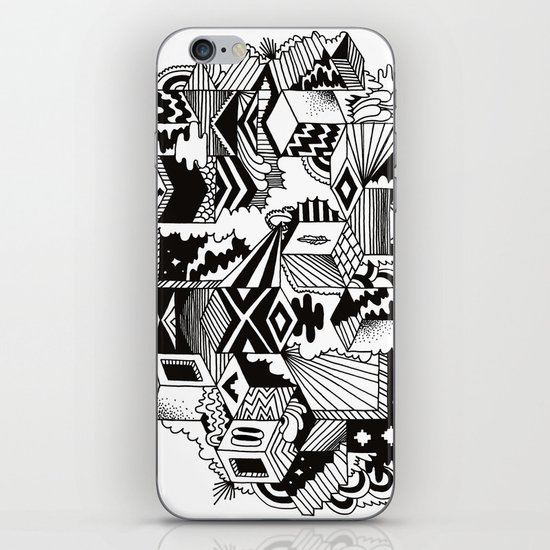 Cube-ular iPhone & iPod Skin