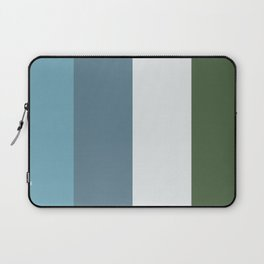Parable to Behr Blueprint Color of the Year and Accent Colors Vertical Stripes 11 Laptop Sleeve