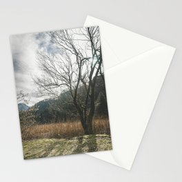 The big leafless tree Stationery Cards