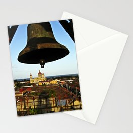 Bell Tower View, Granada, Nicaragua Stationery Cards