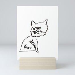 Furiosa the Three-Legged Cat Mini Art Print