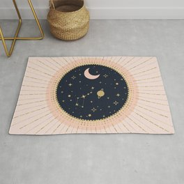 Love in Space Rug