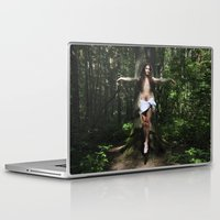 christ Laptop & iPad Skins featuring Jesus Christ by Marina Stelte