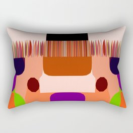 SincroniZided Rectangular Pillow