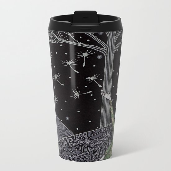 My Winter Stars Metal Travel Mug