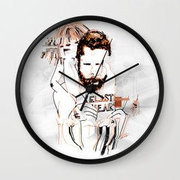"""Elastic Heart"" Wall Clock"