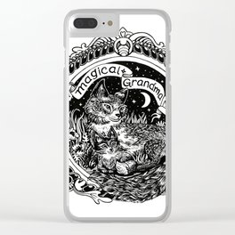 Magical Grandma Clear iPhone Case