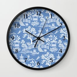 Chinoiserie Pagoda Wall Clock
