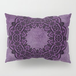 Circle in Purple Pillow Sham