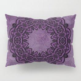 Circle in Purple Pillow Sham